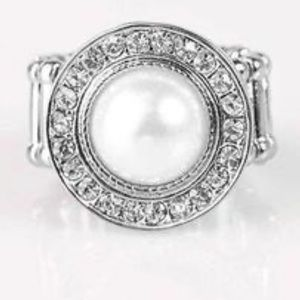 Vow to Wow White Ring